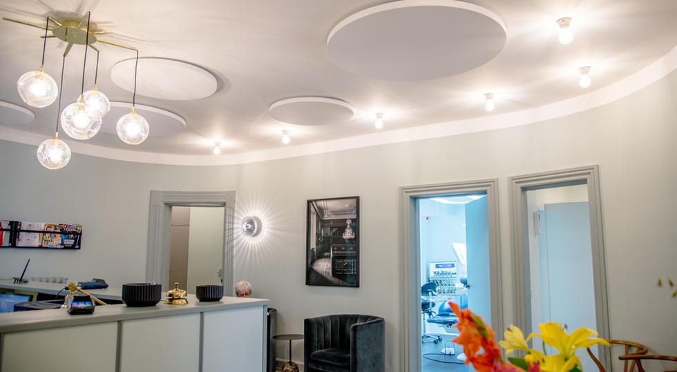 RUNDE SOLOER - akustik og støjdæmpning på kontor