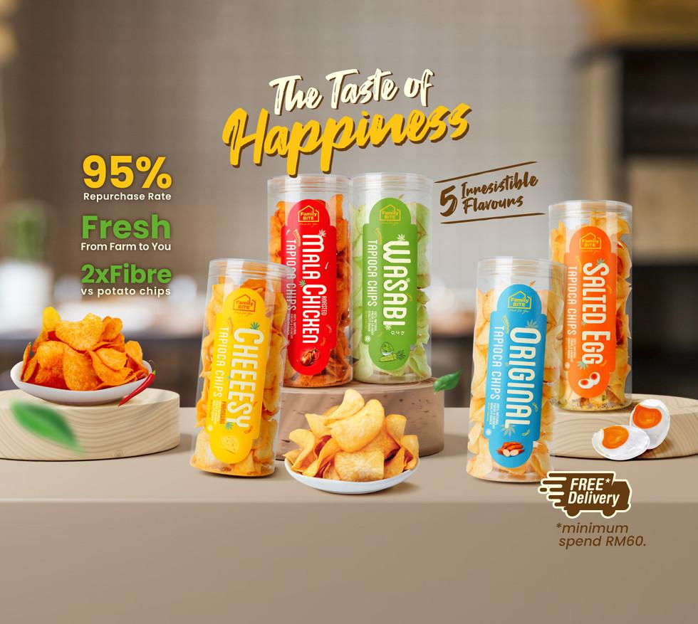 Tapioca Chips 5 in 1
