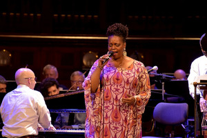 concert with Dianne Reeves...