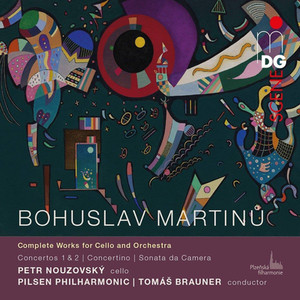Bohuslav Martinu's cello works -  Classic Prague Awards 2017 - best recordings of 2017