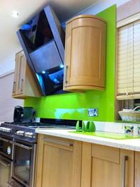 Neon Green Splashbacks
