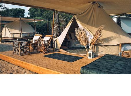 Taking the Glamping experience to the next level