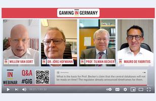 Gaming in Germany Webinar Report - 21st April 2021