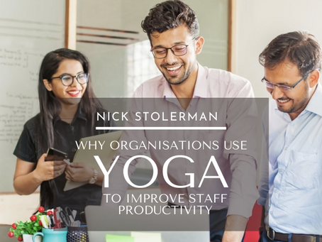 Why Organisations Use Yoga To Improve Staff Performance And Productivity