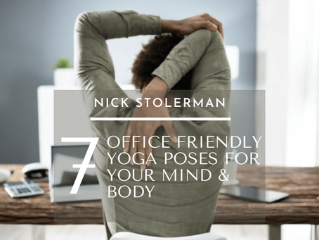 7 Office Friendly Yoga Poses For Your Mind & Body