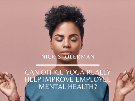 Can Office Yoga Really Help Improve Employee Mental Health?