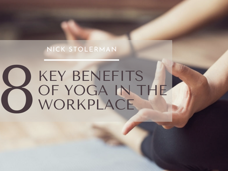 The 8 Key Benefits of Yoga In The Workplace