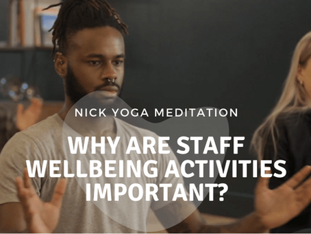 Workplace Wellness Programmes - Why Staff Wellbeing Activities Are Important