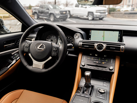 Lexus RC 300 - Driver's Side Interior.jp