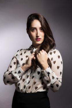 צילום פרוטרט שחקנית|סטודיו כותרת - צילום תדמית לעסקים