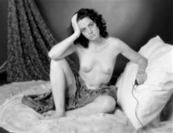 Self portrait as a 19th century mode