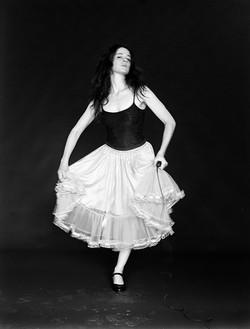 Self portrait as a dancer