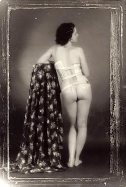 Self portrait with corset