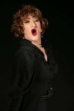Linda as an opera singer