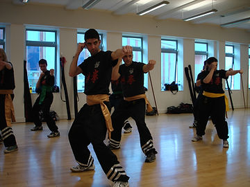 Energetic martial arts fitness and cardiovascular workout classes at Mousavi Martial Arts Academy, Bristol.
