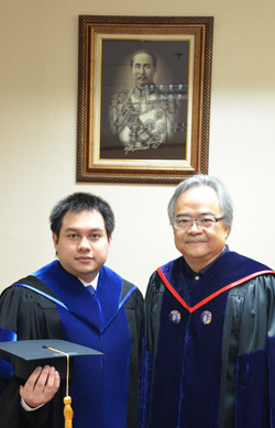Dr. Adisak and Prof. Skorn