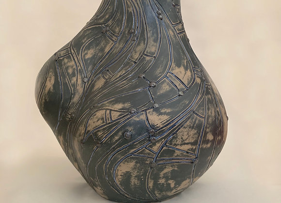 Untitled - abstract figurative/vase sculpture.