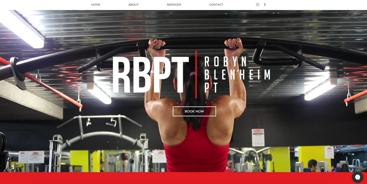Robyn Blenheim Personal Trainer