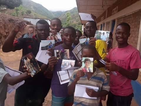 Sponsor Letters in D.R. Congo Bring Joy to Orphans