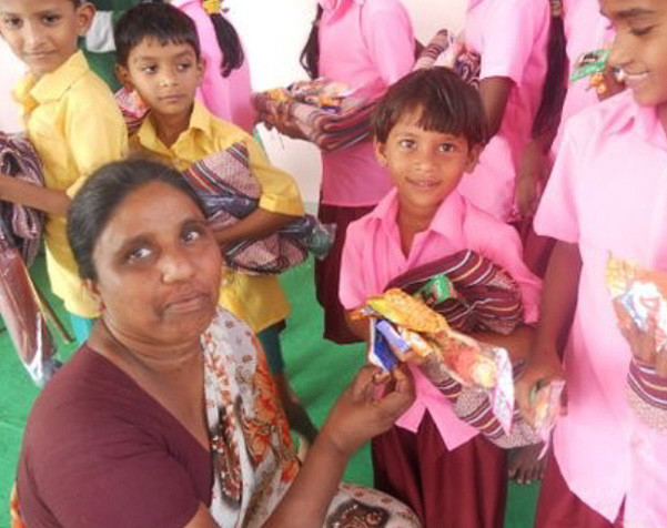 Orphans in India Enjoy Christmas