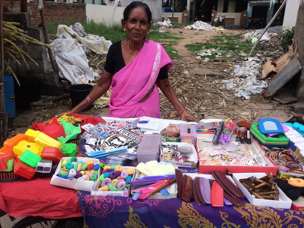 Helping Widows in India