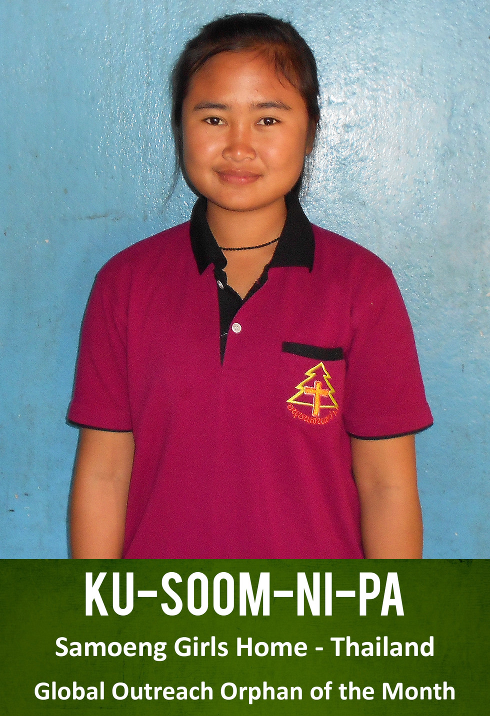 Ku-soom-ni-pa Is Our Orphan Of The Month