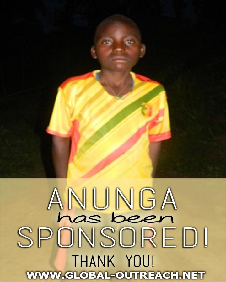 Anunga Has Received an Educational Sponsorship!