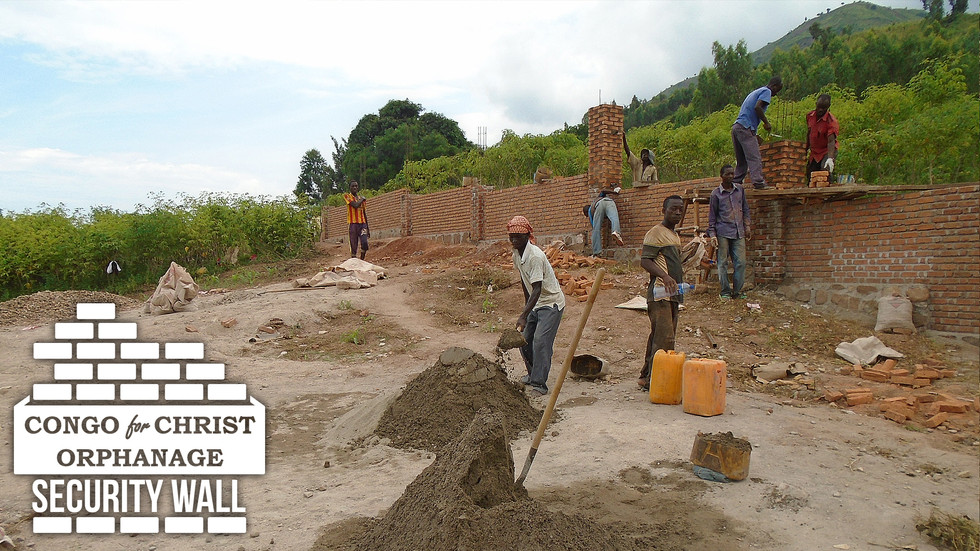 Phase I of Security Wall in Congo is Complete!