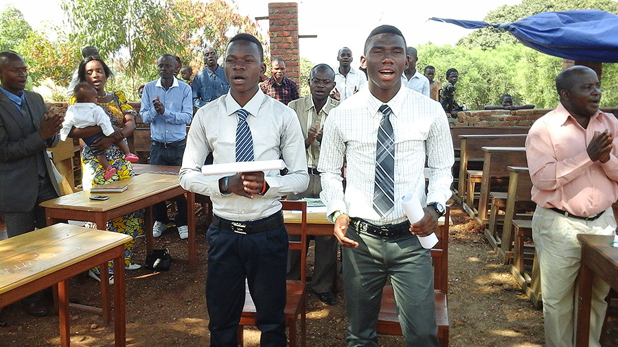 Two Orphan Boys Begin College