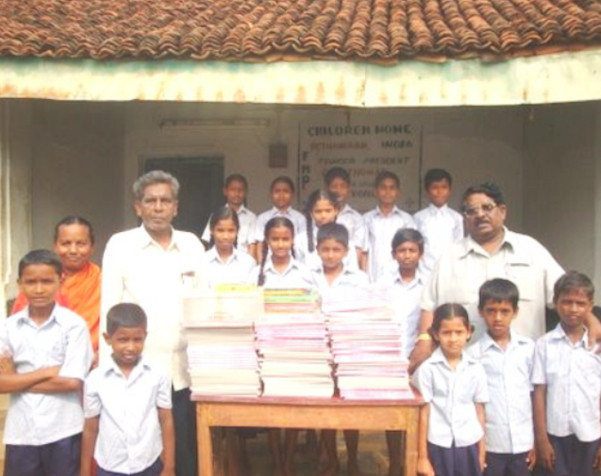 Your Gifts Provided School Supplies For Orphans In India