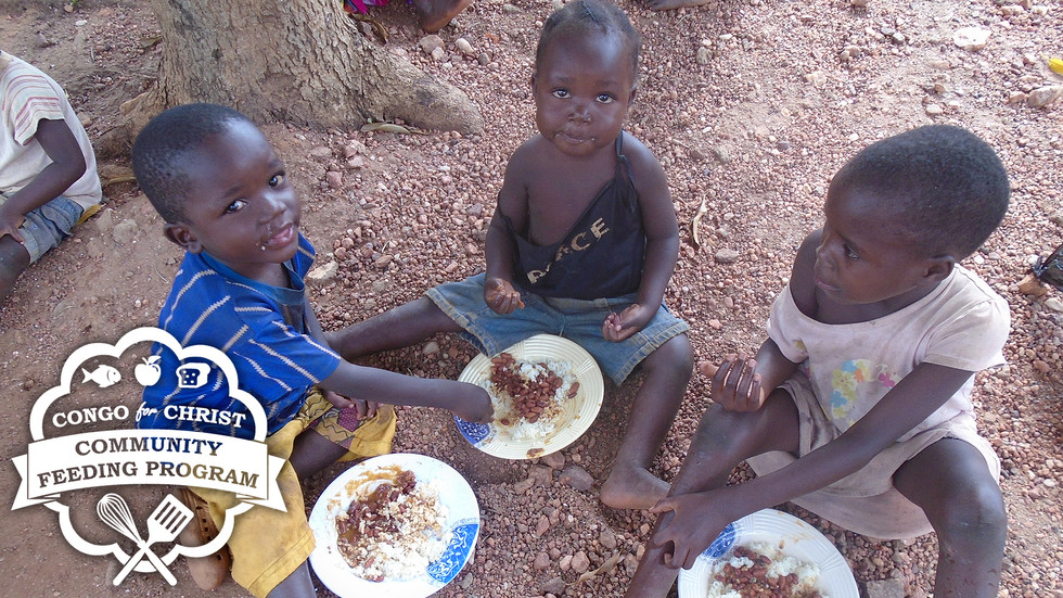 Congo Feeding Program is a Huge Blessing!