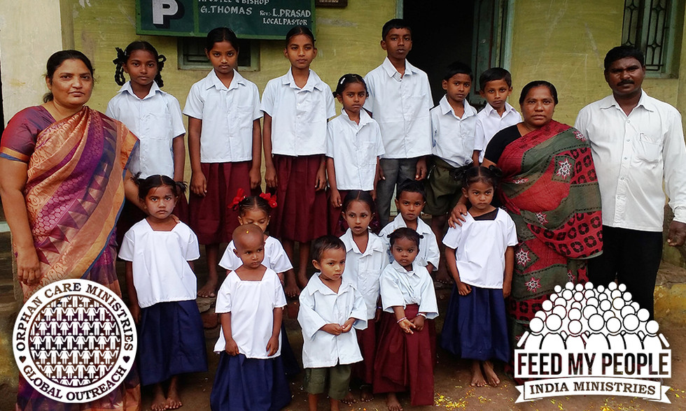 New Orphans Join Orphanage In India