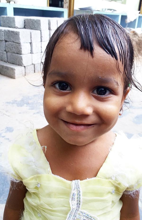 Jaya Joins Orphanage In India