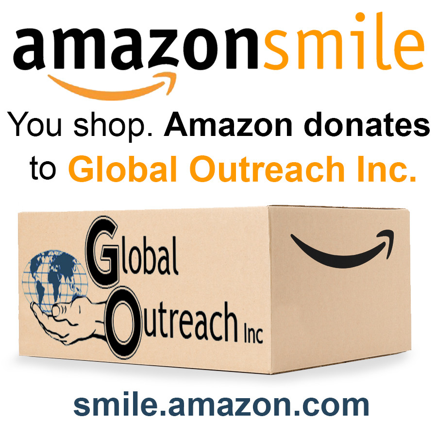 You Can Now Help Support Global Outreach Inc When You Shop At Amazon