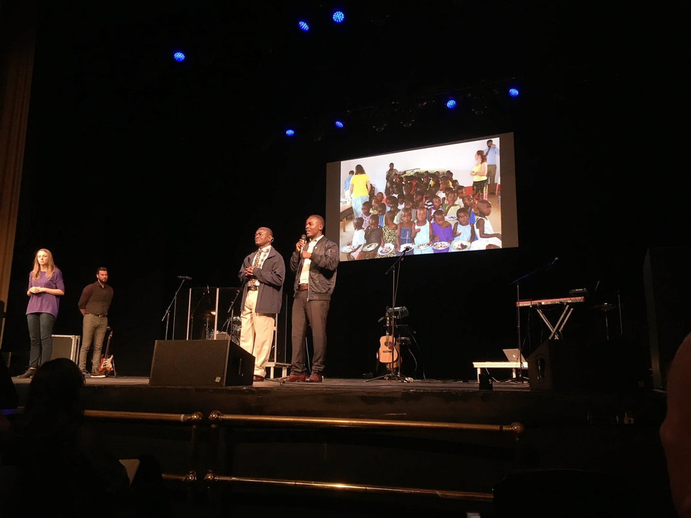 National Community Church Hosts Congo For Christ Center's Pastor Jeremiah