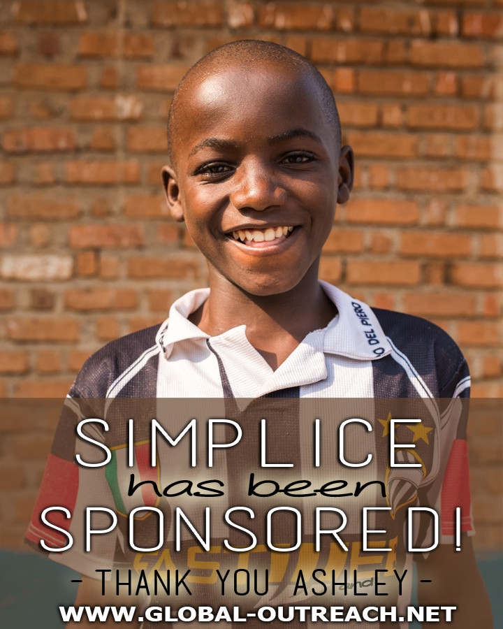 Simplice Has Been Sponsored By Ashley!