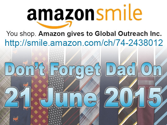 You Can Raise Money For Global Outreach Inc Ministries While Shopping For Dad