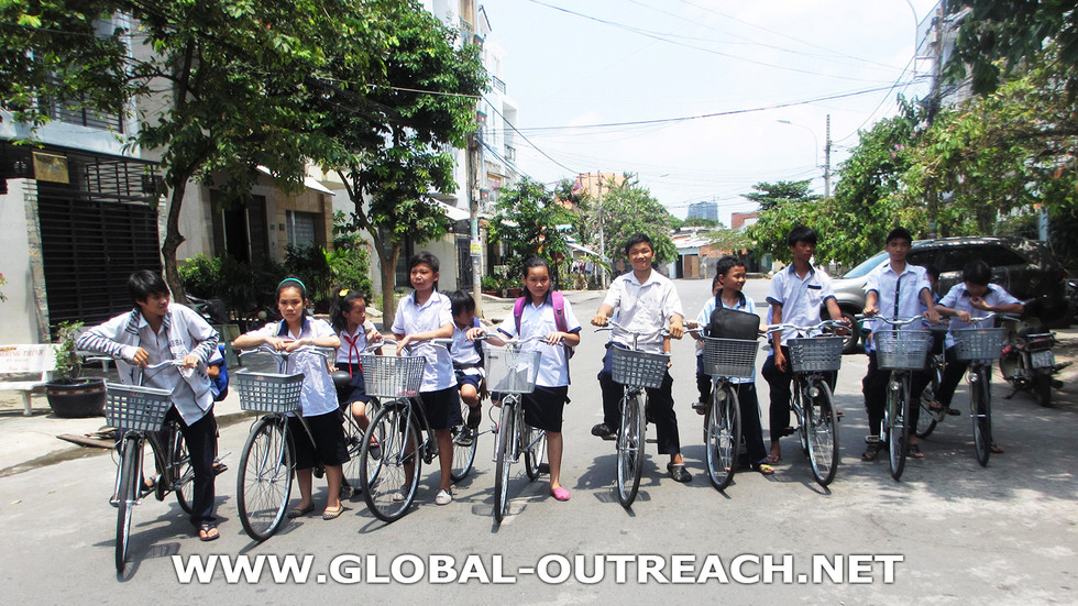 Vietnam Orphans Are Getting To School Thanks To Global Outreach Inc Supporters!