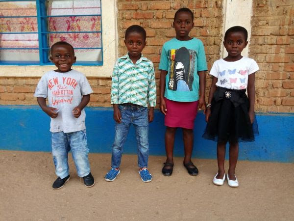 New Children at Congo for Christ