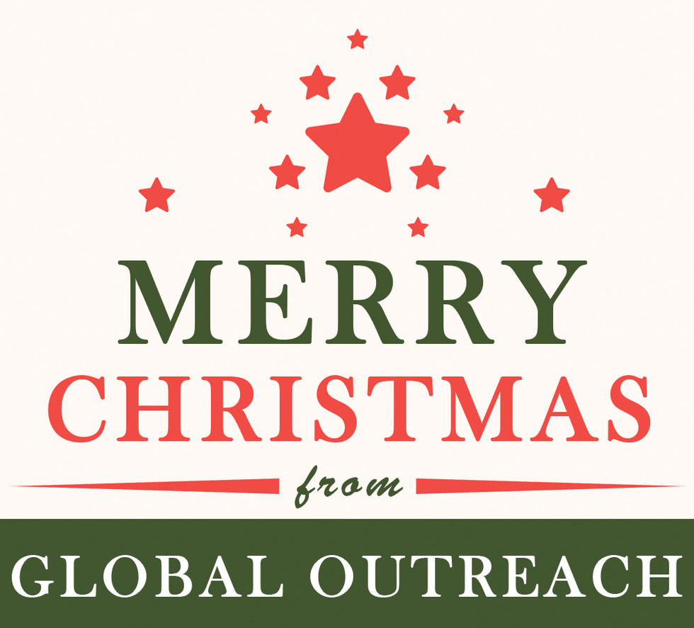 Merry Christmas From Global Outreach Inc....Christ is the Light of the World