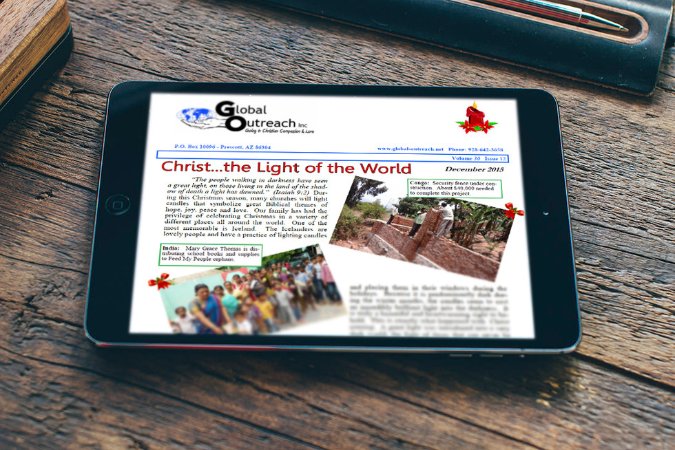 The December 2015 Newsletter Is Now Posted Online