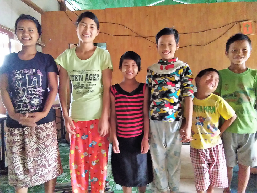 New Orphans and a Building Project in Myanmar