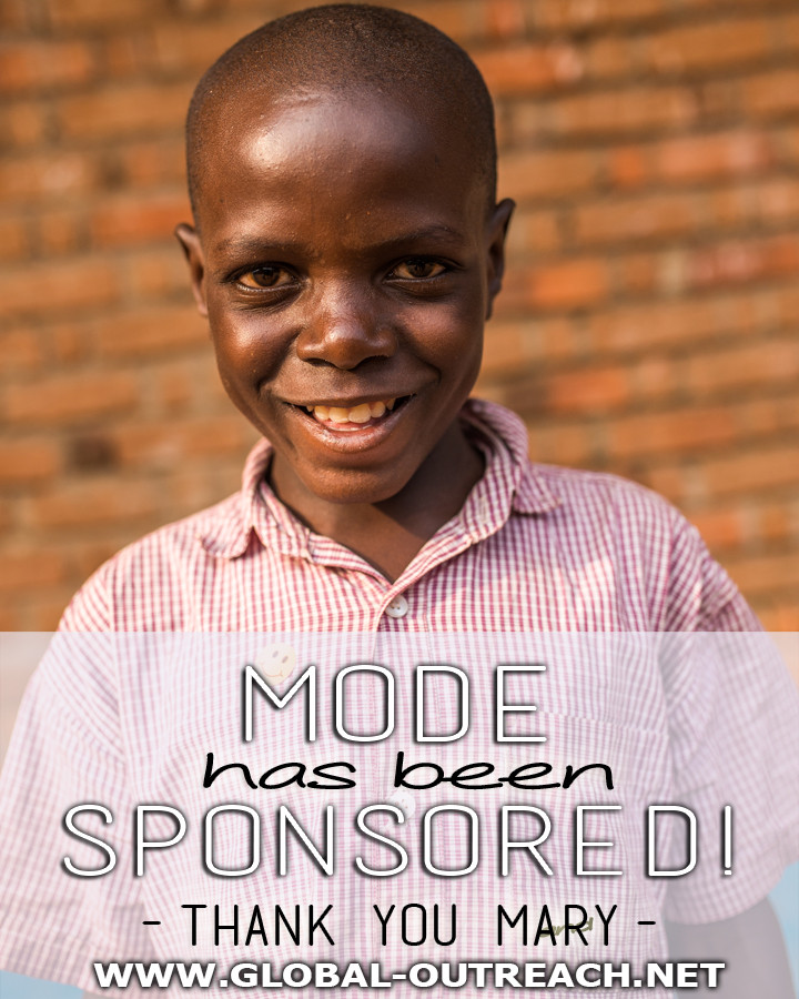 Mode Has Been Sponsored By Mary!