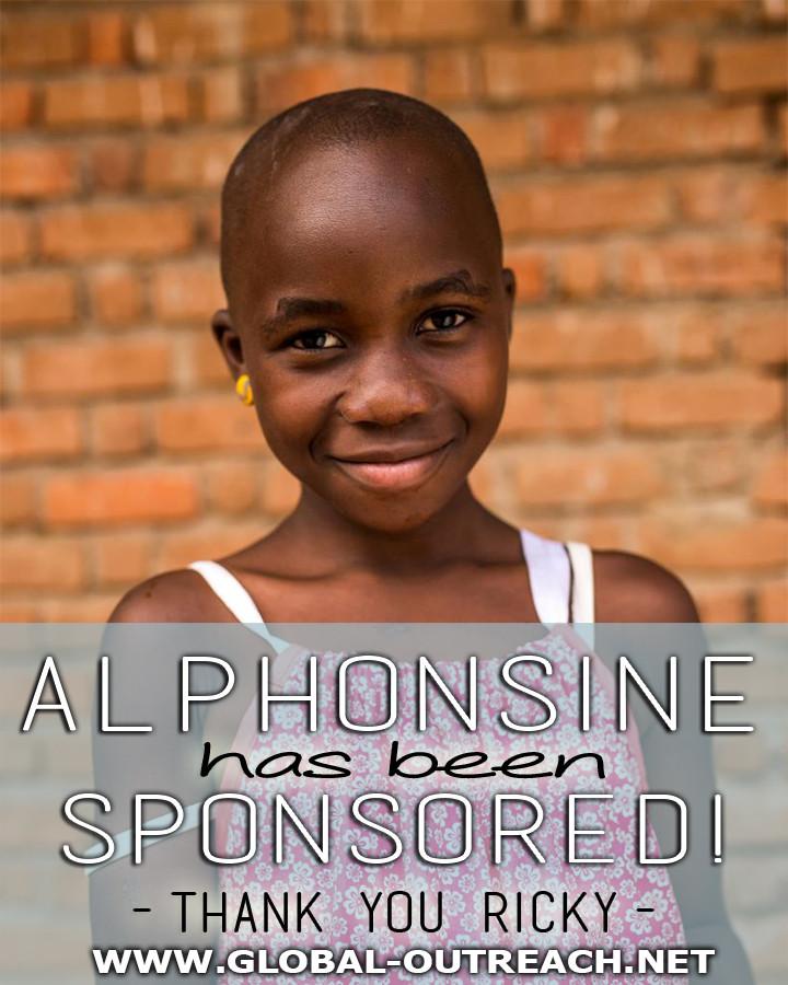 Alphonsine Has Been Sponsored By Ricky!