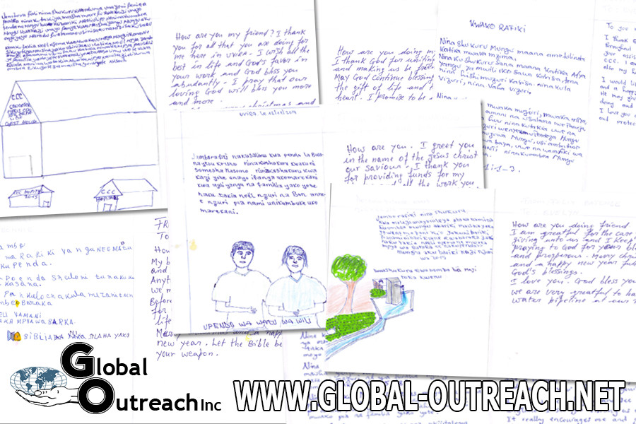 Orphan Letters To Sponsors Are On Their Way!
