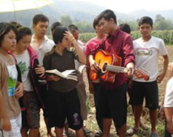 Reverend Wanchai Supuwas Hosts Youth Camp In Thailand
