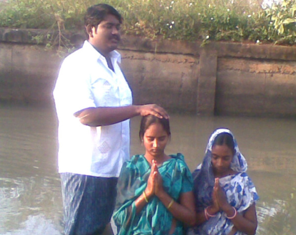 Reverend Thomas Reports Much Progress In India