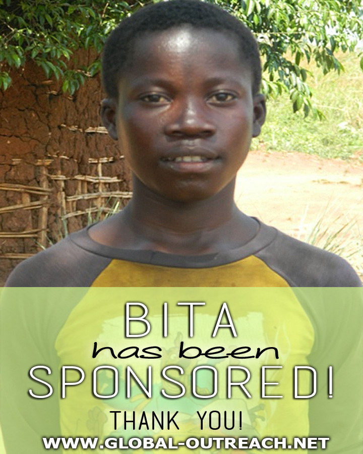 Bita Has Received an Educational Sponsorship!