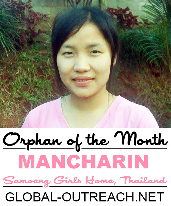 Mancharin Is Our Orphan Of The Month