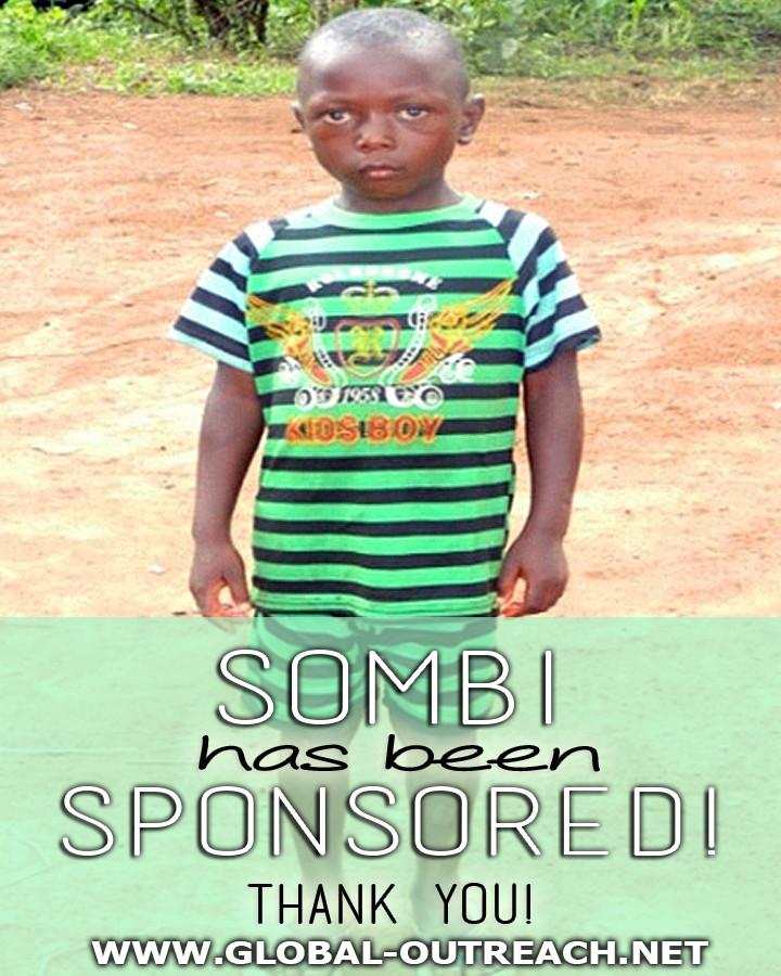 Sombi Has Received an Educational Sponsorship!